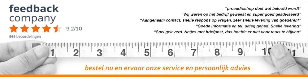 Beoordeling proaudioshop.nl