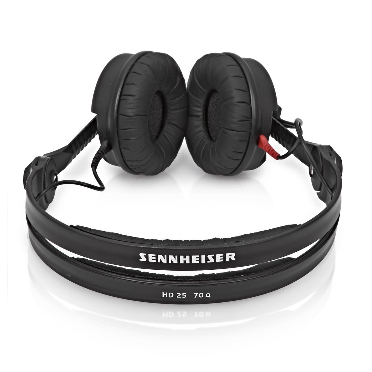 sennheiser hd 25 plus hoofdtelefoon met 2 kabels en extra. Black Bedroom Furniture Sets. Home Design Ideas