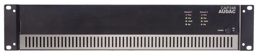 Afbeelding van Audac CAP 248 versterker 100 Volt 2x480 Watt