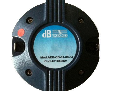 Afbeelding van DB Technologies Tweeter voor Opera DX, Basic-400, Flexsys FM12 en Cromo 12/15