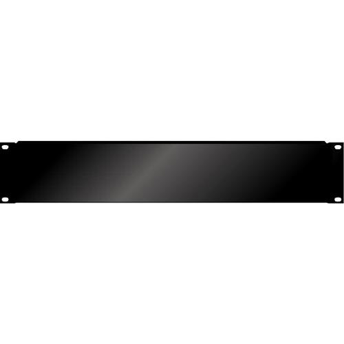 Afbeelding van PAS Blindplaat 19 inch 2HE met omgeknikte rand voor extra stevigheid