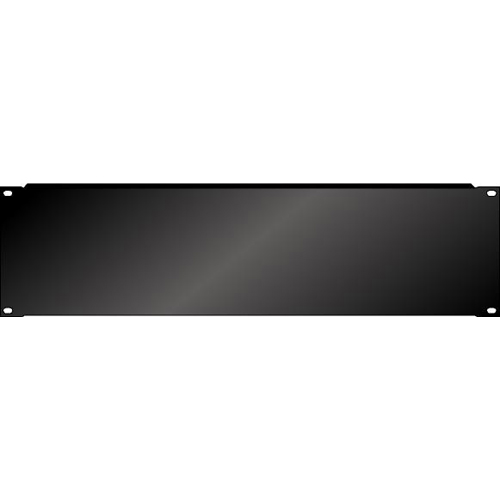 Afbeelding van PAS Blindplaat 19 inch 3HE met omgeknikte rand voor extra stevigheid