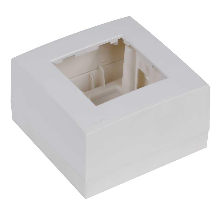 Afbeelding van Audac WB45 S/W Opbouwdoos voor wandregelaar wit