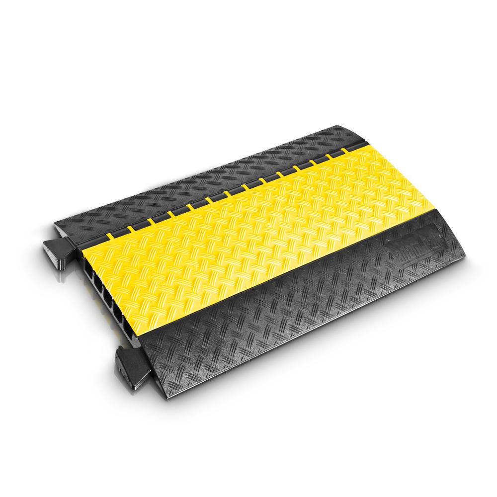 Afbeelding van Adam Hall Defender Midi kabelbrug zwart/geel 90cm