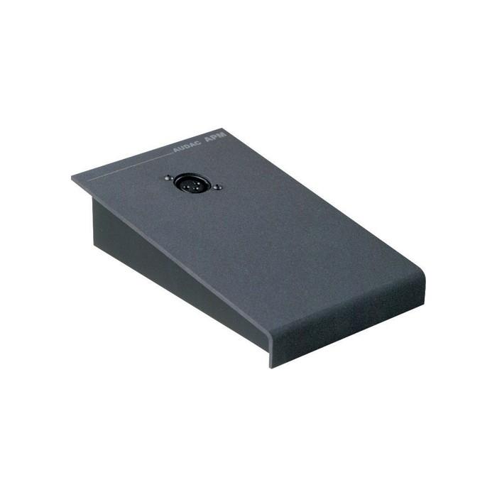 Afbeelding van Audac APM microfoon tafelstatief met XLR aansluiting