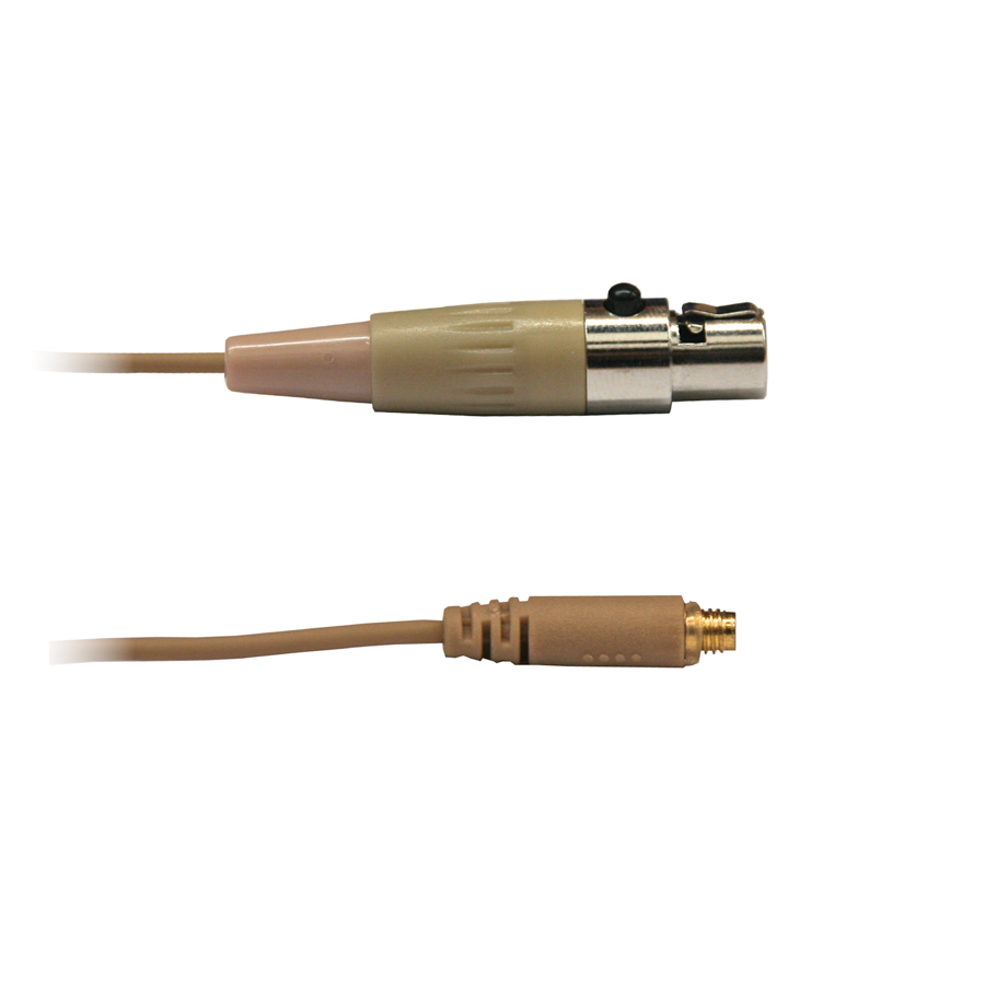 Afbeelding van Audac Kabel 3p mini-XLR voor CMX706, CMX 726 en CMX 826 headset, kleur light skin