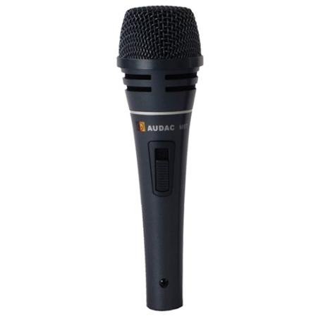 Afbeelding van Audac M 87 microfoon voor spraak en zang met schakelaar, dynamisch