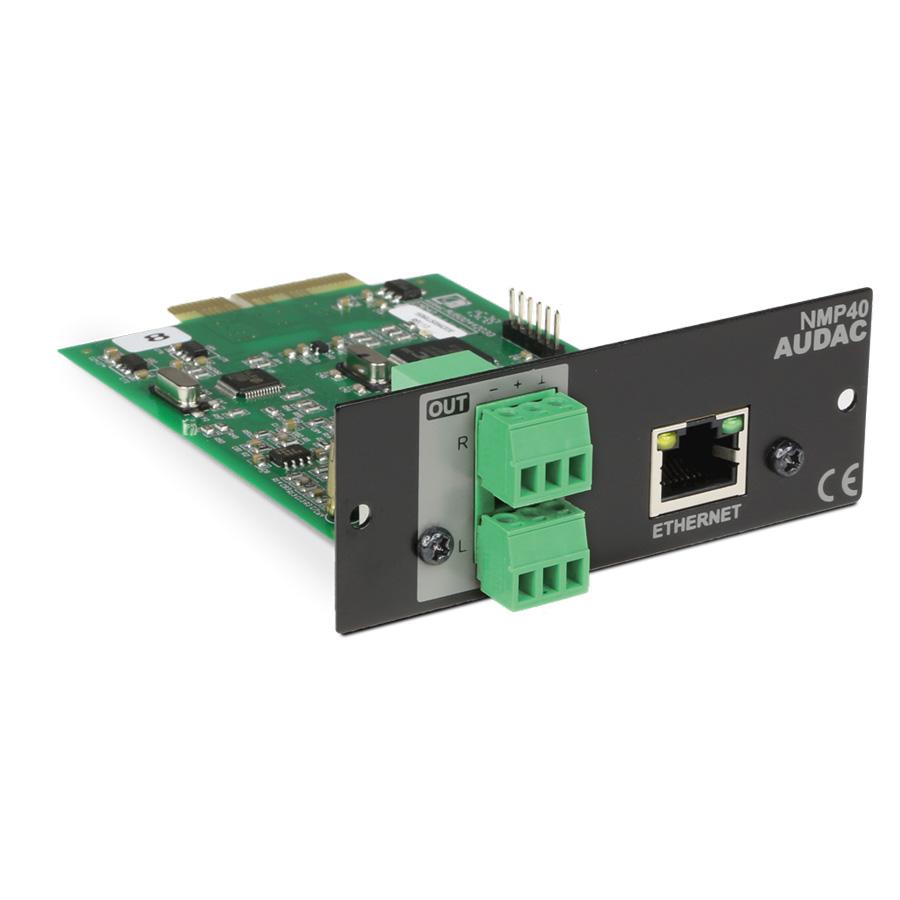 Afbeelding van Audac NMP 40 streaming insteekmodule voor XMP44 - DLNA en Spotify