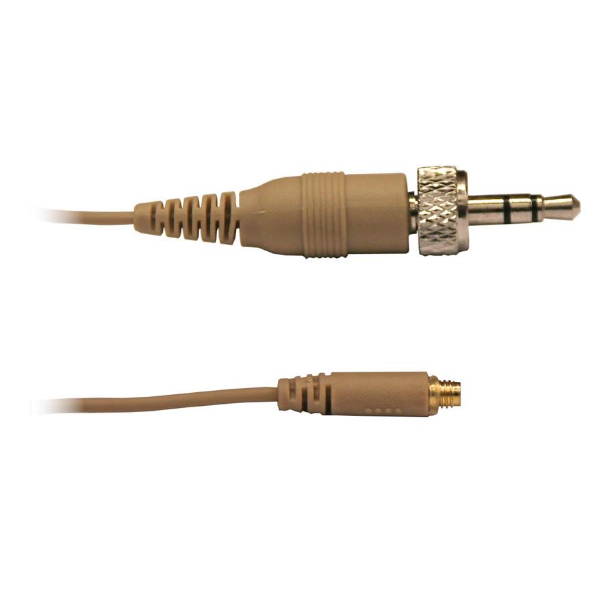 Afbeelding van Audac Kabel 3,5mm mini-jack voor CMX706, CMX 726 en CMX 826 headset, kleur light skin
