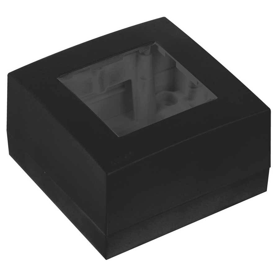 Afbeelding van Audac WB45 S/B Opbouwdoos voor wandregelaar, kleur zwart