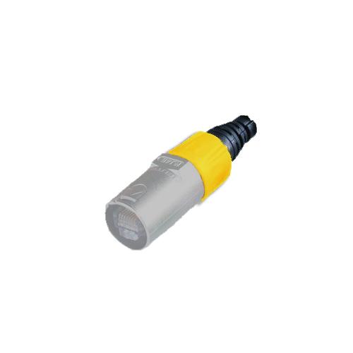 Afbeelding van Neutrik BSE 4 kleurring voor Neutrik etherCON kabeldeel geel