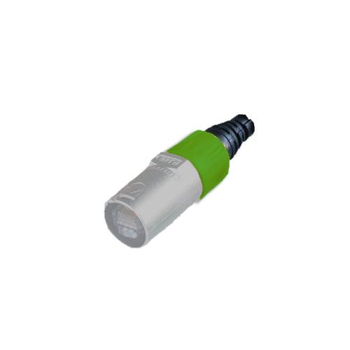 Afbeelding van Neutrik BSE 5 kleurring voor Neutrik etherCON kabeldeel groen