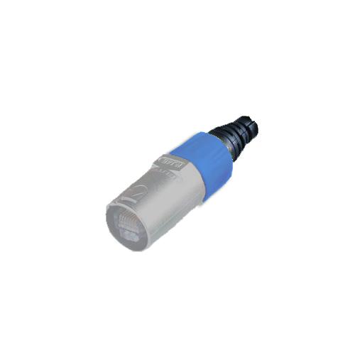 Afbeelding van Neutrik BSE 6 kleurring voor Neutrik etherCON kabeldeel blauw