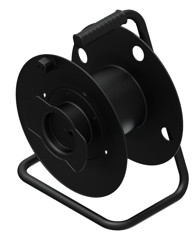 Afbeelding van Procab CDM 132 Lege kabelhaspel voor audio en video kabel