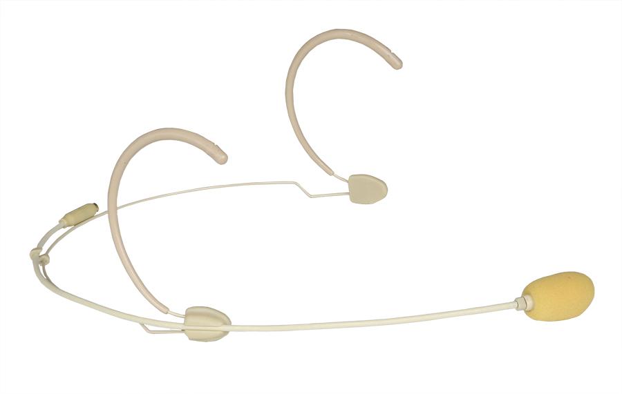 Afbeelding van Audac CMX-826S lichtgewicht headsetmicrofoon, huidskleurig