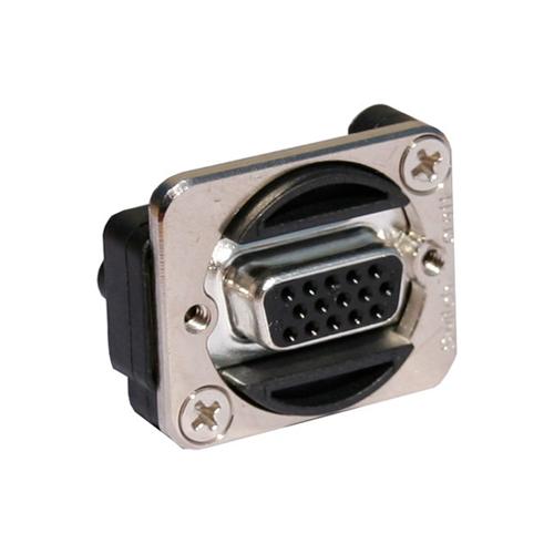 Afbeelding van Switchcraft EHHD 15 FF VGA chassisdeel doorvoer blank