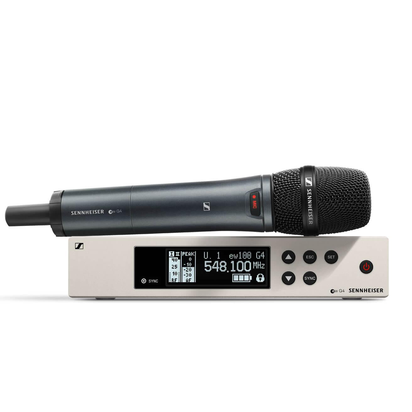 Afbeelding van Sennheiser ew 100 G4-835-S-B draadloze microfoon (626-668 MHz)