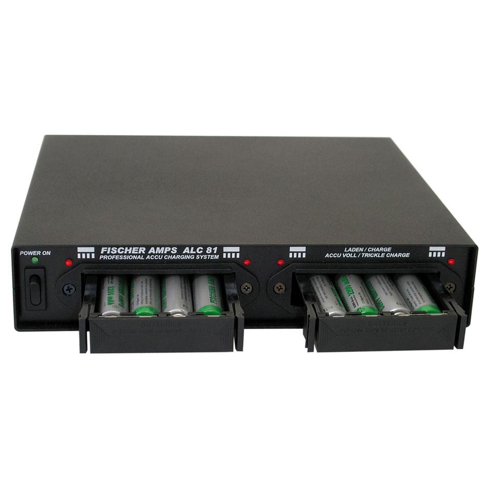 Afbeelding van Fischer Amps ALC 81 batterijlader voor 8x AA accu (incl.)