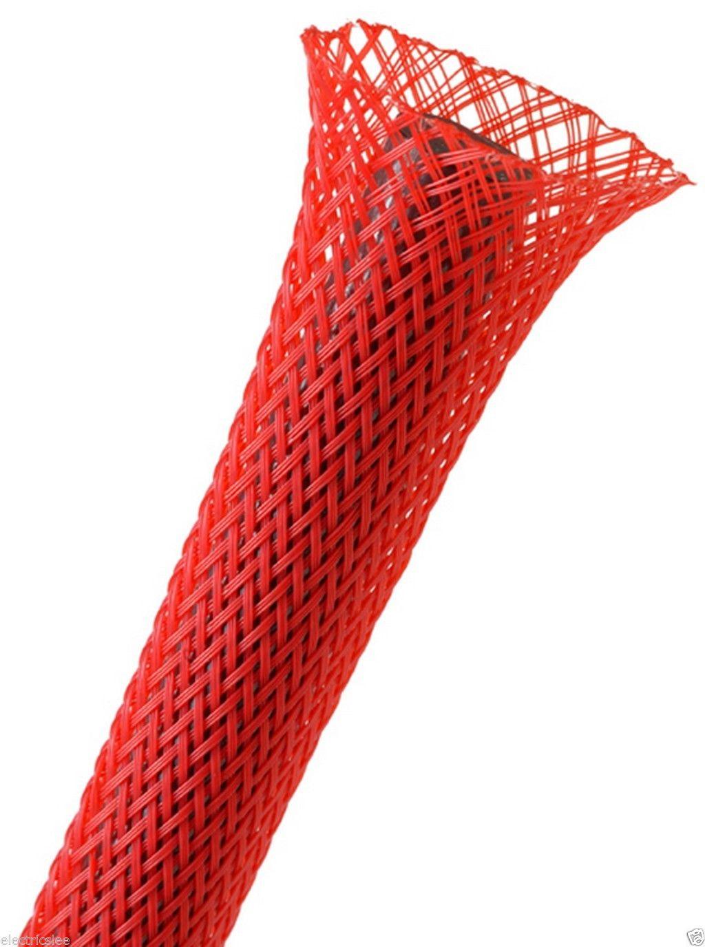 Afbeelding van Techflex Flexo Pet sleeving 6,4 mm rood