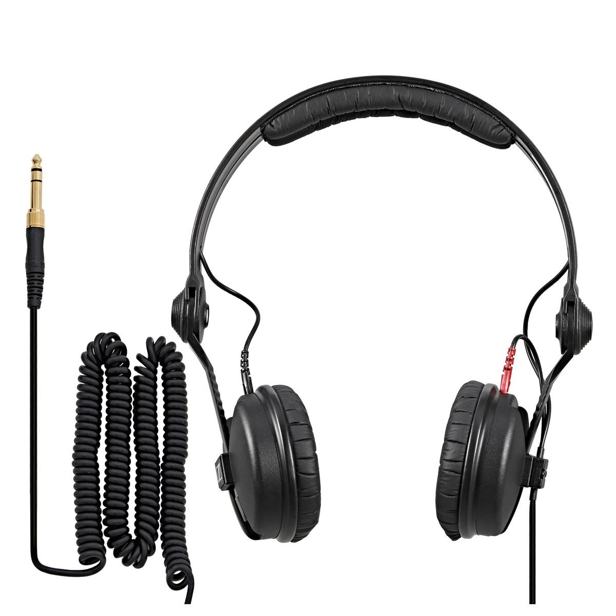 Afbeelding van Sennheiser HD 25 PLUS hoofdtelefoon met 2 kabels en extra oorkussens