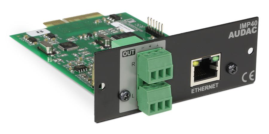 Afbeelding van Audac IMP 40 Internetradio insteekmodule voor XMP44