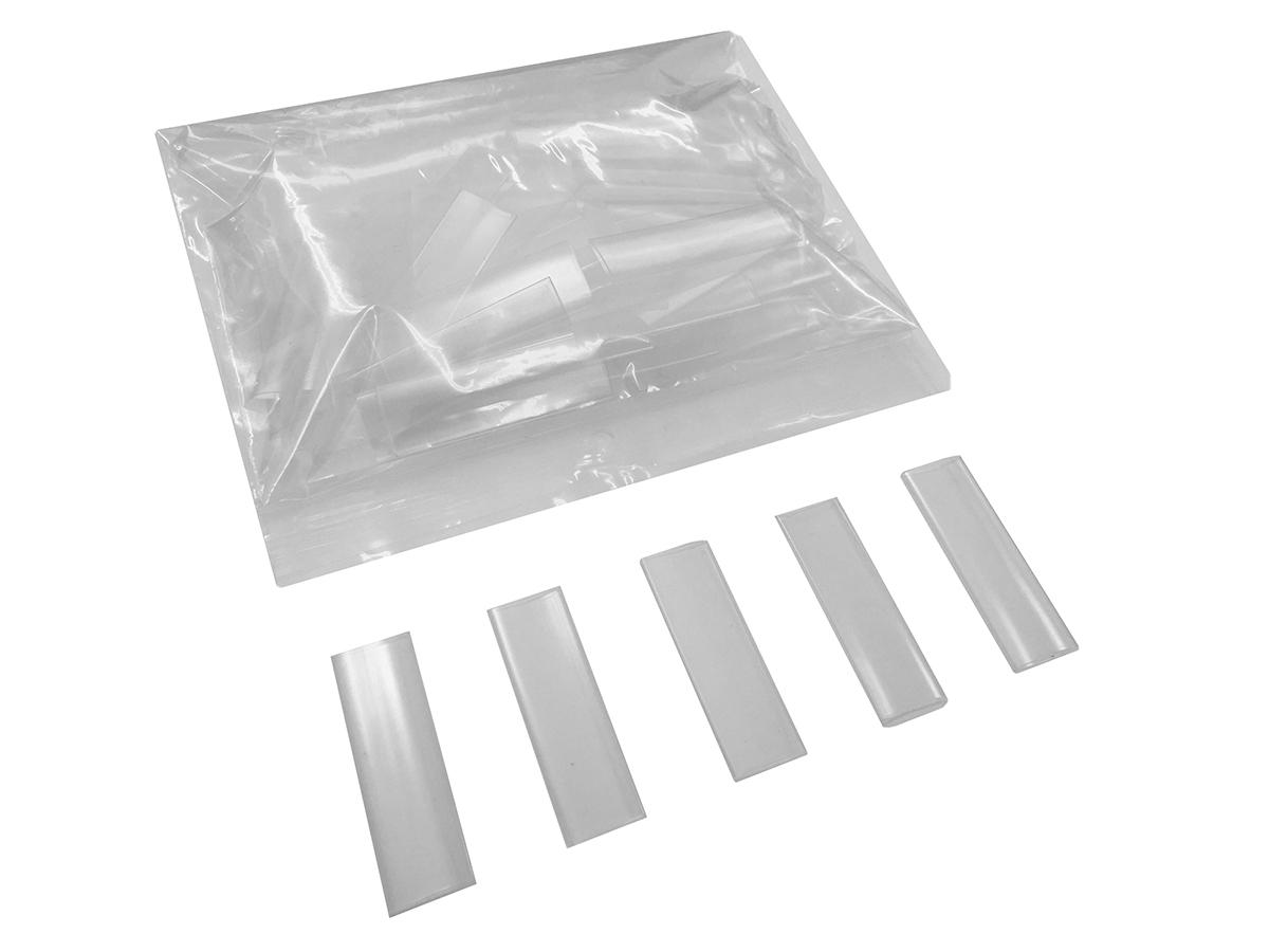 Afbeelding van PAS Transparante Krimpkous 9,5-5,0mm lengte 5cm, 50 stuks