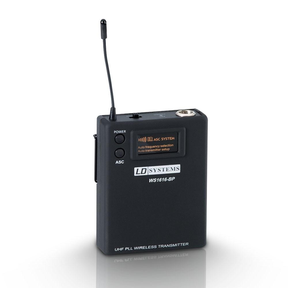Afbeelding van LD Systems Losse bodypackzender voor Roadman, Roadboy en Roadbuddy - B6 (655-679 MHz)