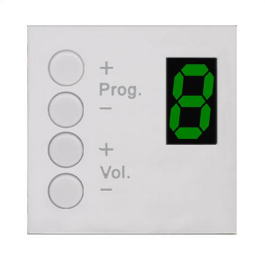 Afbeelding van Audac MWX 45/W Wall Panel Controller voor MTX