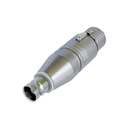 Afbeelding van Neutrik NA2FBNC Verloopadapter BNC naar XLR female