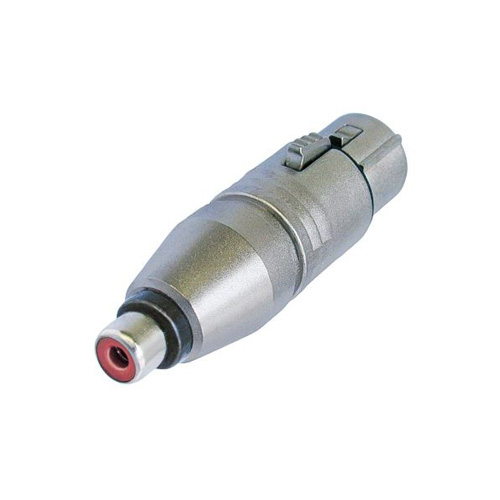 Afbeelding van Neutrik NA 2 FP MF Adapter XLR female naar RCA female