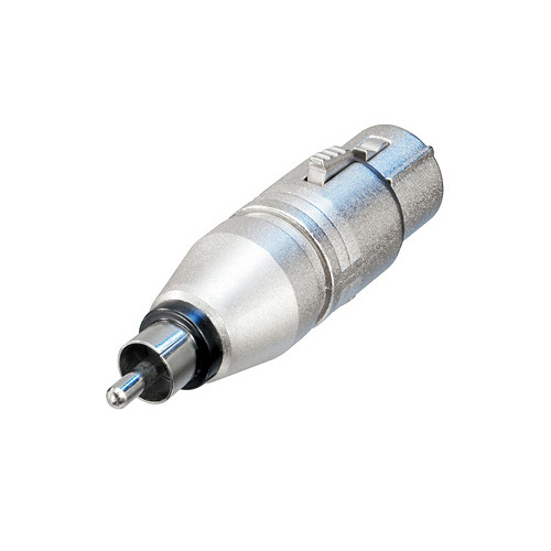 Afbeelding van Neutrik NA 2 FP MM Adapter XLR female naar RCA male