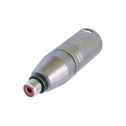 Afbeelding van Neutrik NA 2 MPMF Adapter XLR male naar RCA female