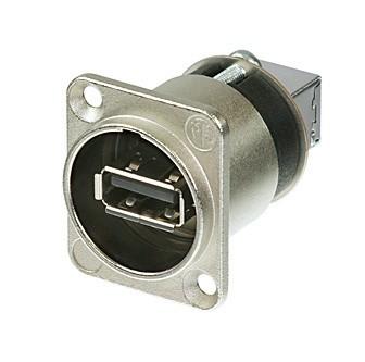 Afbeelding van Neutrik NA USB-W USB chassisdeel doorvoer