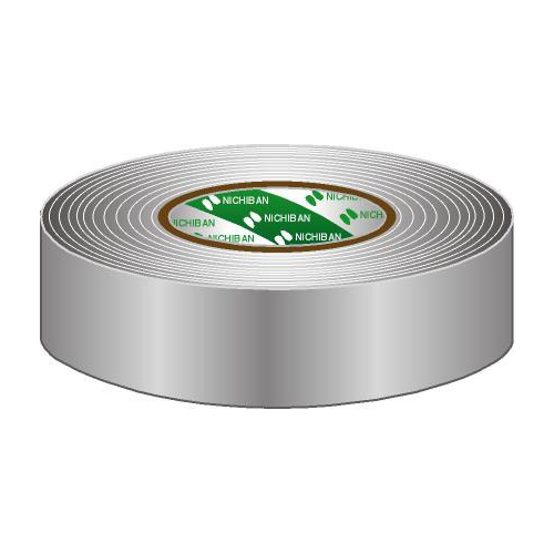 Afbeelding van Nichiban Gaffa Tape 38mm grijs 50m, per rol
