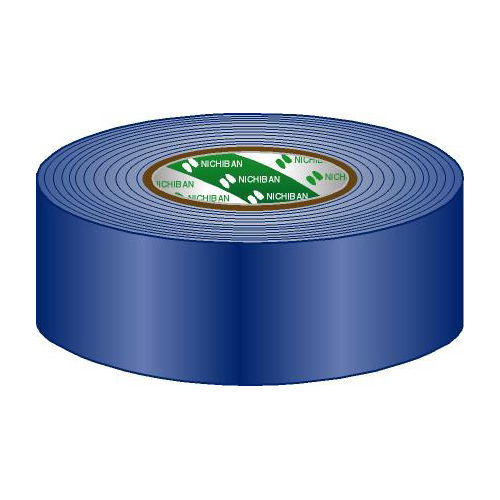 Afbeelding van Nichiban Gaffa Tape 50mm blauw 50m, per rol
