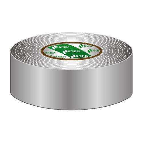 Afbeelding van Nichiban Gaffa Tape 50mm grijs 50m, per rol