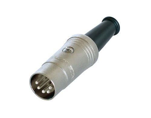Afbeelding van Neutrik NYS 322 DIN Midi kabeldeel 5-polig
