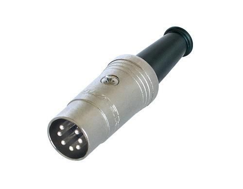 Afbeelding van Neutrik NYS 323 DIN kabeldeel 7-polig