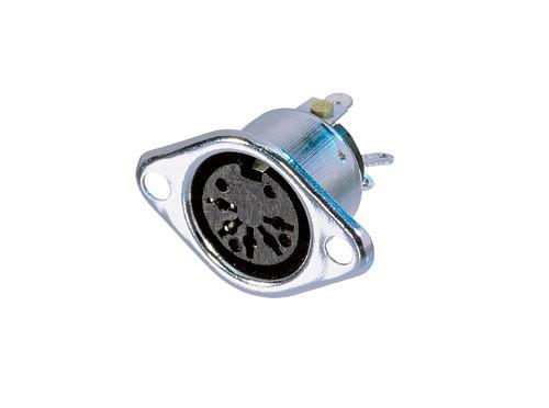 Afbeelding van Neutrik NYS 324 DIN chassisdeel 3-polig