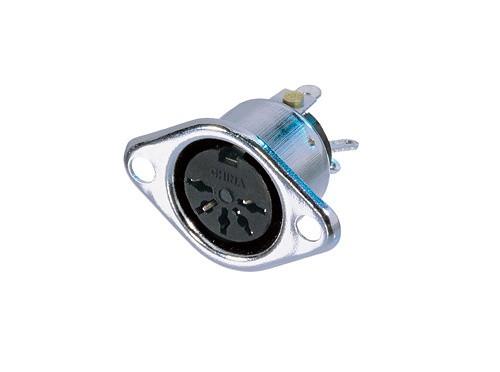 Afbeelding van Neutrik NYS 325 DIN chassisdeel 5-polig