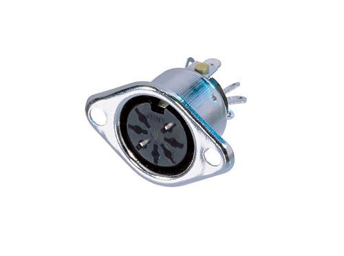 Afbeelding van Neutrik NYS 326 DIN chassisdeel 7-polig