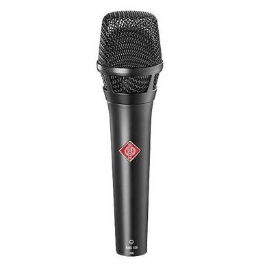 Afbeelding van Neumann KMS 105 bk condensator microfoon voor zang en spraak, supernier