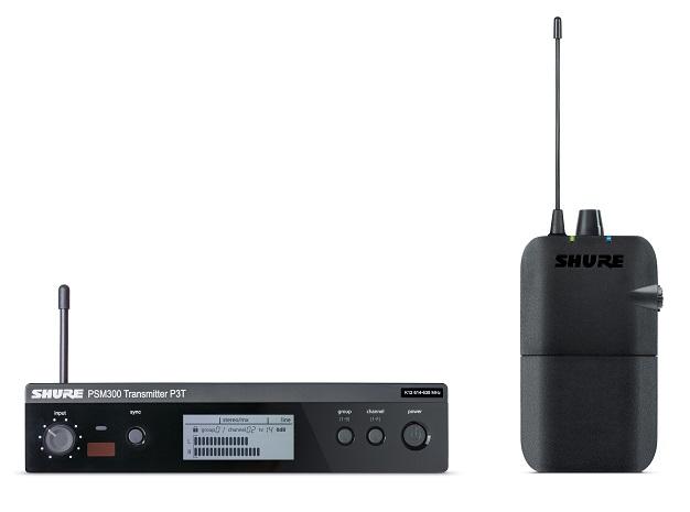 Afbeelding van Shure PSM 300 P3TR in ear systeem