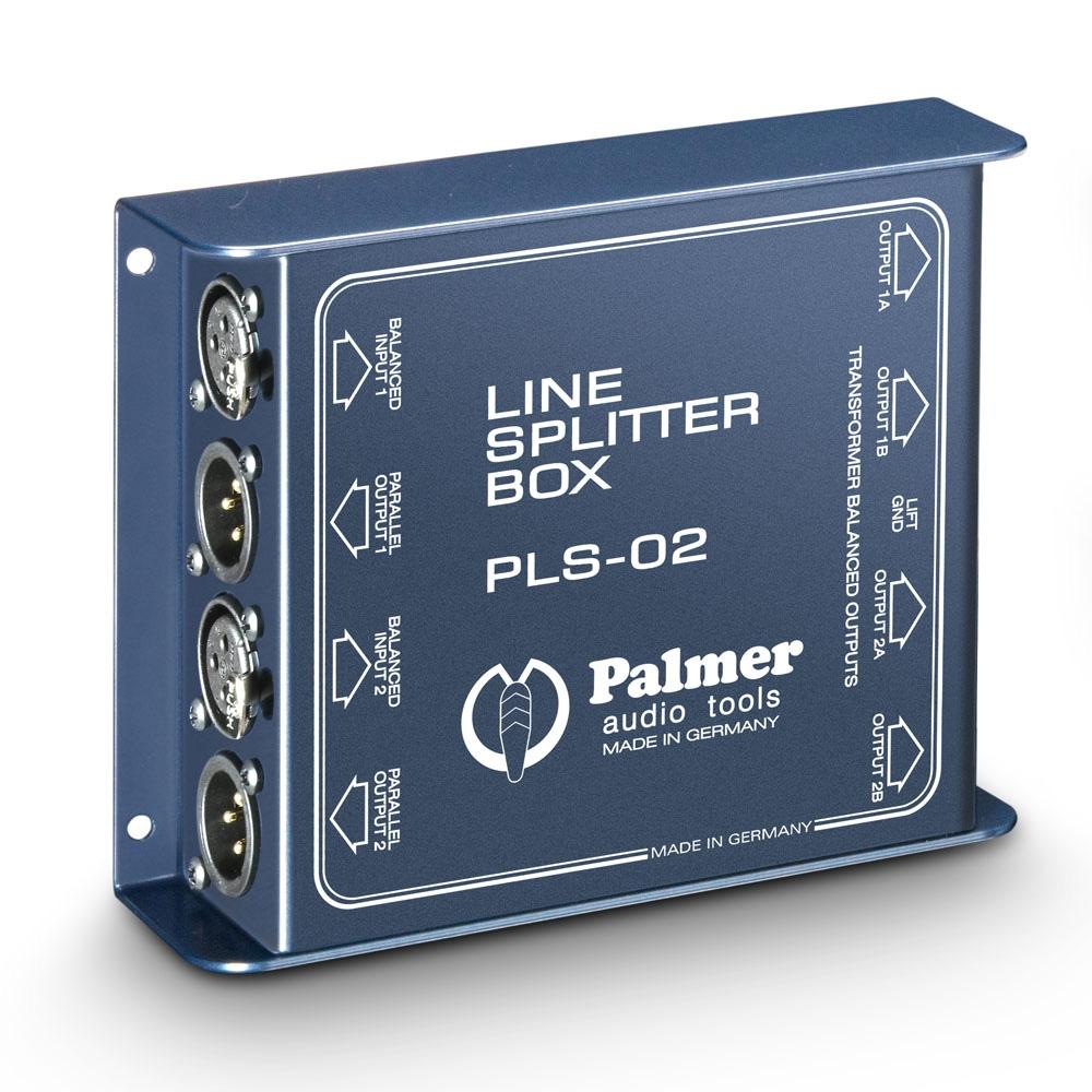 Afbeelding van Palmer PLS 02 passieve splitter voor 2x XLR lijnsignaal