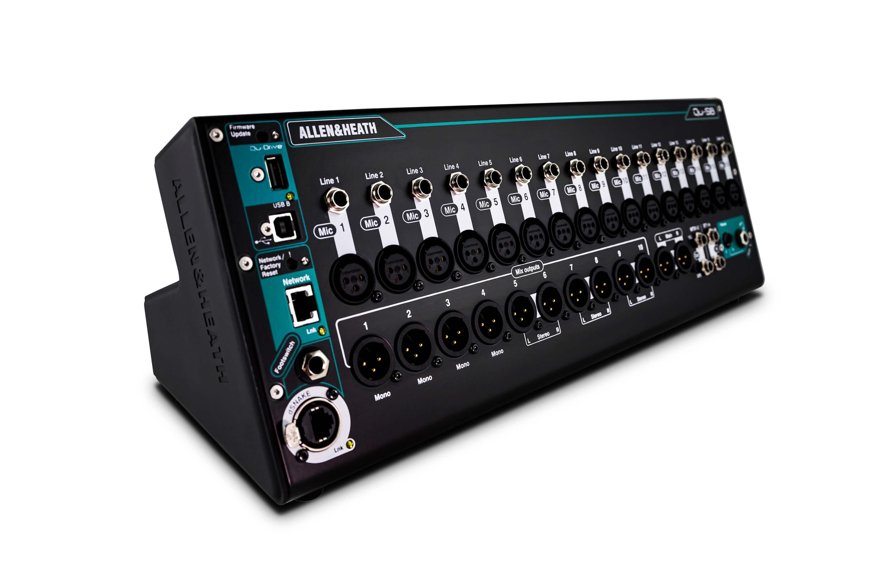 Afbeelding van Allen & Heath QU-SB Digitale Mixer met 16 inputs en ipadbediening