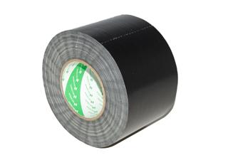 Afbeelding van Nichiban Gaffa Tape 100mm zwart 50m, per rol