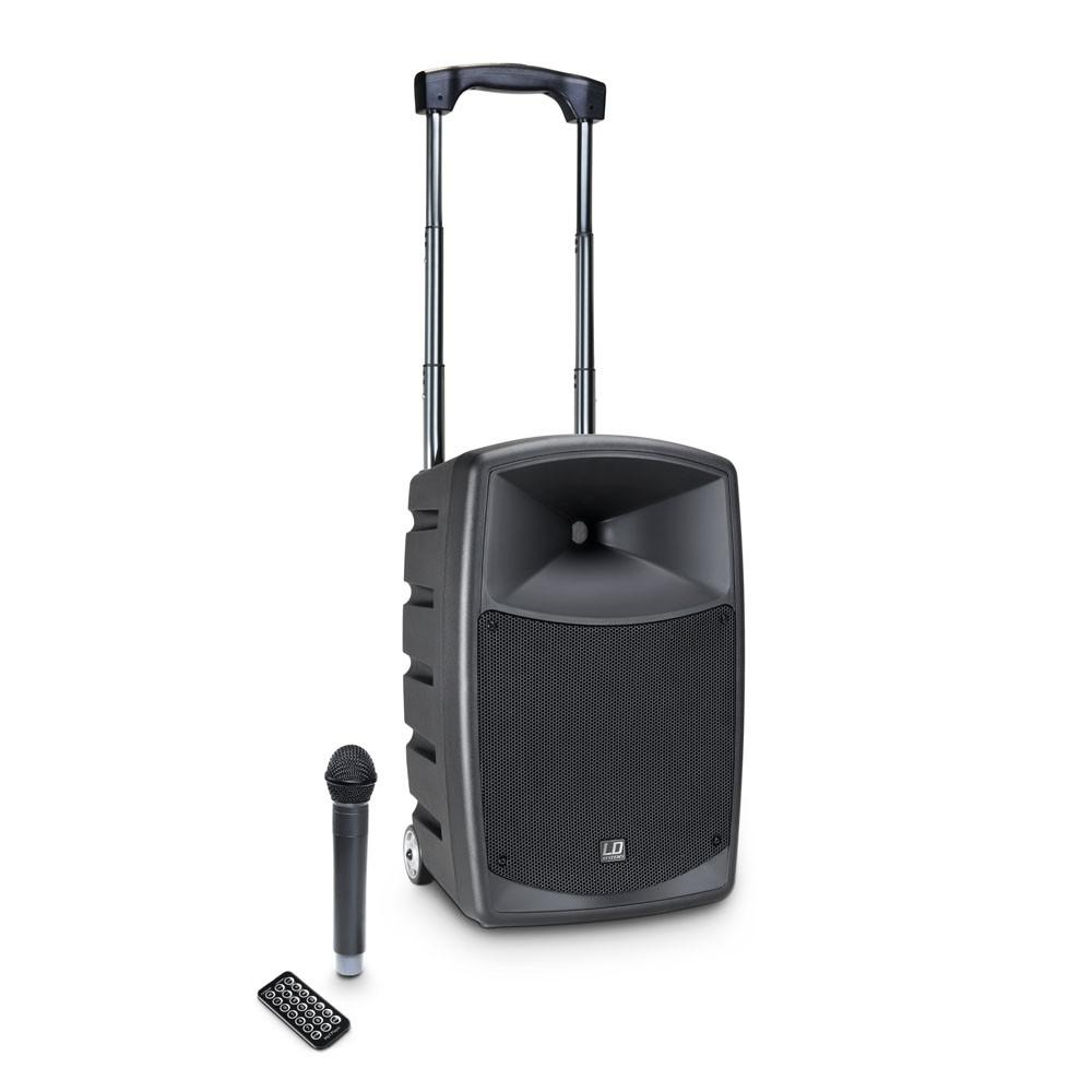Afbeelding van LD Systems Roadbuddy 10 luidspreker op accu met draadloze microfoon en bluetooth