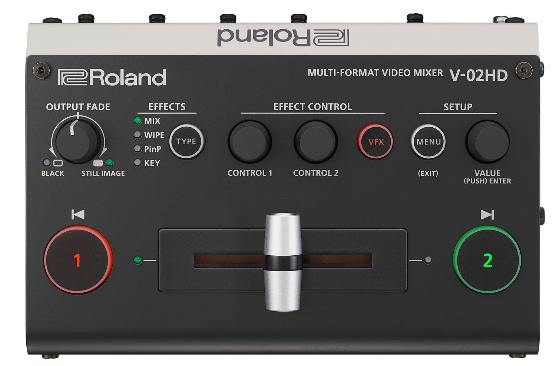Afbeelding van Roland V-02HD videomixer 2ch met ingebouwde scaler en effecten