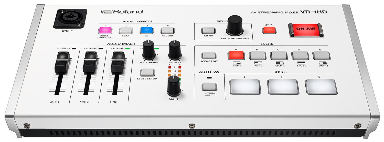 Afbeelding van Roland VR1HD videomixer voor live-streaming: de totaaloplossing