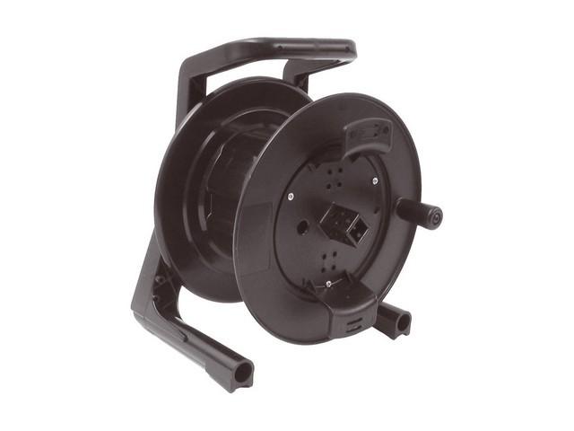 Afbeelding van Schill GT-235.RM lege kunsttof haspel met rubberen zijwangen, opwindspoel en rem